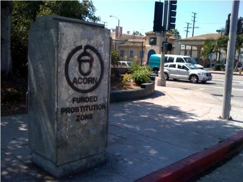 ACORN Funded Prostitution Zone