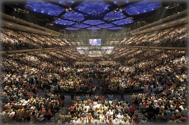 Lakewood Church Inside