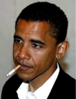 Smokin' Obama