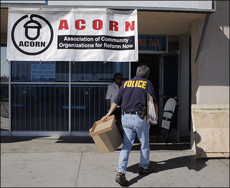 Raid of ACORN Office