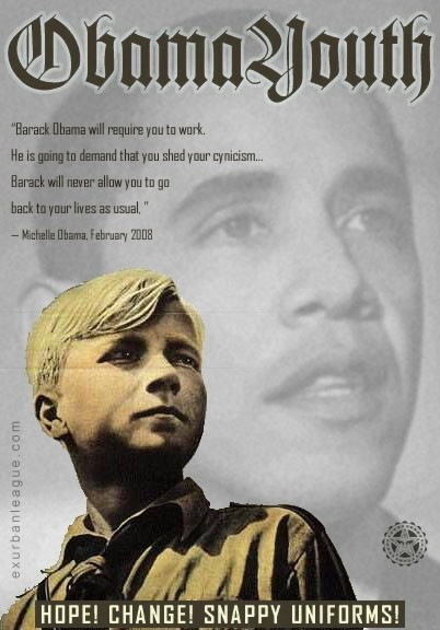 OBAMA YOUTH Poster