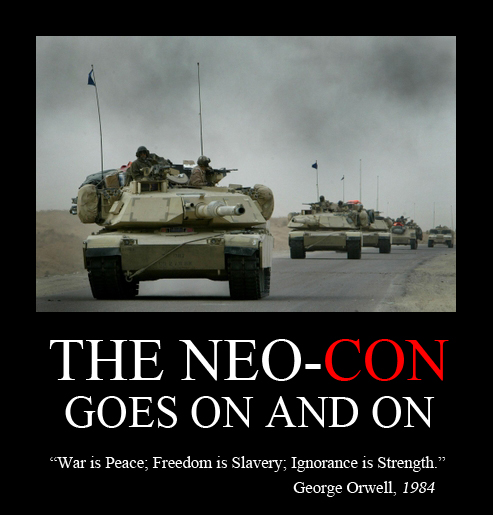 The Neo-Con Goes On and On Blog